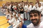 Training mit 4-fach Weltmeister Rafael Aghayev