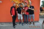 Asphaltstockturnier: Bushidos gewannen nach 3 Siegen den begehrten Wanderpokal