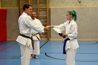 Karateprüfung zum Saisonschluss!