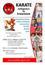 Erwachsenen Karate Anfängerkurs