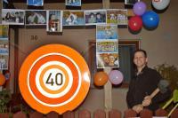 Bernhard ist 40. geworden